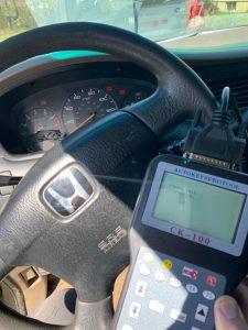 Transponder key coding machine - Honda