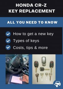 Honda CR-Z key replacement - All you need to know