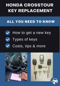 Honda Crosstour key replacement - All you need to know