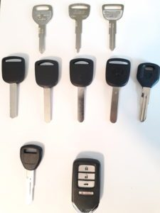 Honda Prelude Replacement Keys