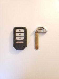 An aftermarket key fob - Honda