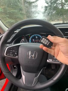 New key fob programming - Honda