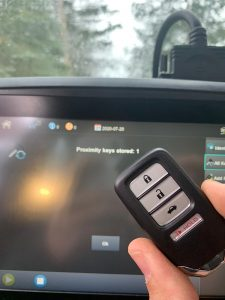 Key fob coded - Honda Civic 2018 key (72147-TG7-A31)