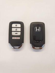 Remote key fob for a Honda Civic