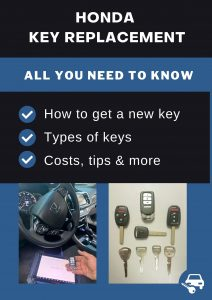 Honda key replacement - All you need to know