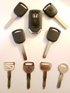 Honda Accord Replacement Keys