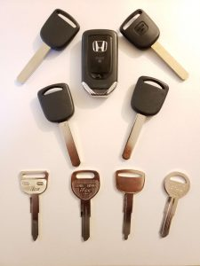Honda car keys replacement