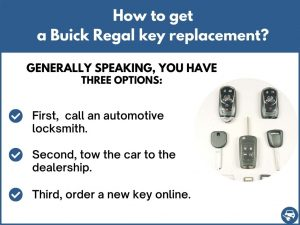 How to get a Buick Regal replacement key