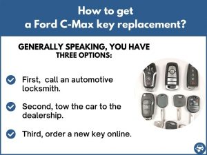 How to get a Ford C-Max replacement key