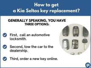 How to get a Kia Seltos replacement key