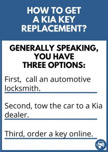 How to get a Kia key replacement