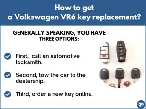 How to get a Volkswagen VR6 replacement key