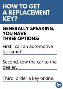 How to Get a Cadillac Catera Replacement Key