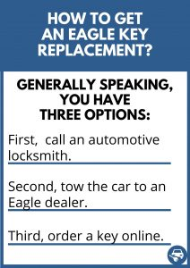 How to get an Eagle key replacement