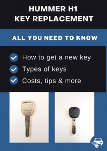 Hummer H1 key replacement - All you need to know