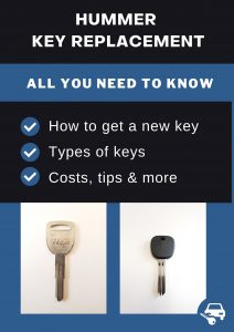 Hummer key replacement - All you need to know
