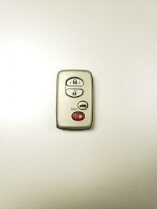 Remote key fob replacement for Toyota models