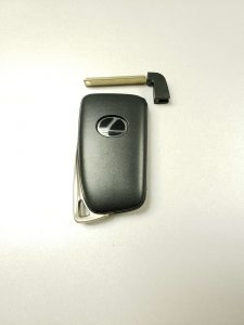 Lexus replacement car key