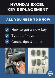 Hyundai Excel key replacement - All you need to know