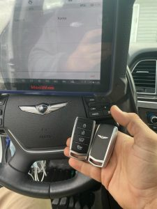 All Hyundai Genesis key fobs must be coded to start the vehicle with a special machine