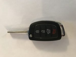 Hyundai Remote Car Key Replacement TQ8-RKE-4F31