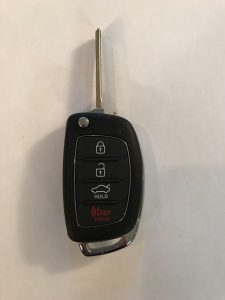 2016-2019 Hyundai Tucson Transponder Car Key Replacement TQ8-RKE-4F25
