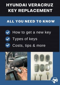 Hyundai Veracruz key replacement - All you need to know