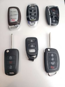 Hyundai Car Keys Replacement - Key Fob, Remote Transponder Keys & Keyless Entry