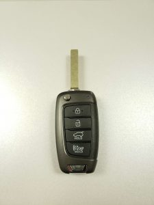 Hyundai Flip Key - Let The Locksmith Or Dealer Know If The Ignition Was Changed Before