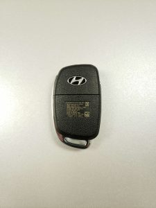 2019 Hyundai Key Replacement - Uncut, Uncoded