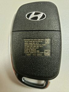Flip key replacement, original - Hyundai