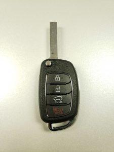 2019 Hyundai flip key replacement