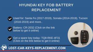 Hyundai key battery replacement tutorial video