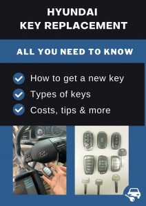 Hyundai key replacement - All you need to know