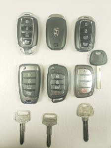 Hyundai keys replacement (2021 and older)