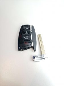 """Blank"" - Key Only - Uncut, Hyundai Key Fob"