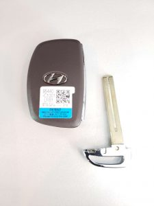 Key Fob and Emergency Key