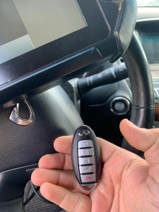 Infiniti Key Fob Coding - On SIte - By an Automotive Locksmith