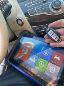 All Infiniti key fobs and transponder keys require coding with a special machine