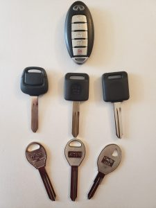 Infiniti replacement car keys, fobs & remote