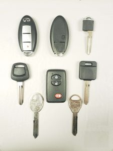 Infiniti keys - Different years, different models