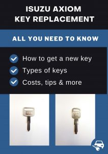 Isuzu Axiom key replacement - All you need to know