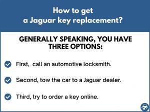 How to get a Jaguar key replacement