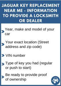 Jaguar key replacement near me - Relevant information