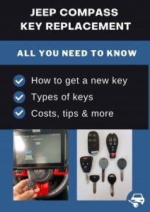 Jeep Compass key replacement - All you need to know