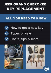 Jeep Grand Cherokee key replacement - All you need to know