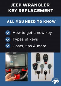 Jeep Wrangler key replacement - All you need to know
