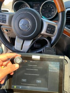 Push-to-start key fob replacement - Jeep Grand Cherokee