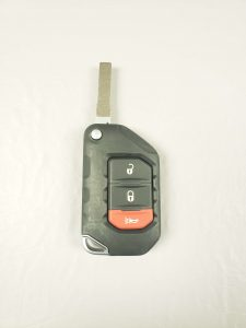2019, 2020, 2021 Jeep Gladiator Transponder Flip Car Key Replacement (OHT1130261)