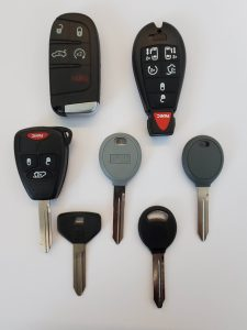 Jeep Commander car keys replacement